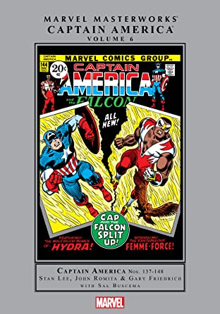 Captain America Masterworks Vol. 6