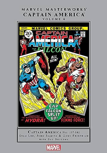 Captain America Masterworks Vol. 6