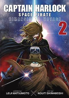 Captain Harlock Space Pirate: Dimensional Voyage Vol. 2