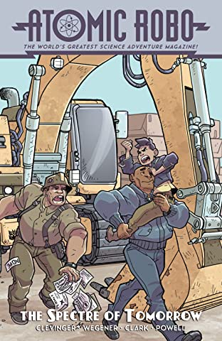 Atomic Robo and the Spectre of Tomorrow No.2