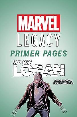Old Man Logan - Marvel Legacy Primer Pages
