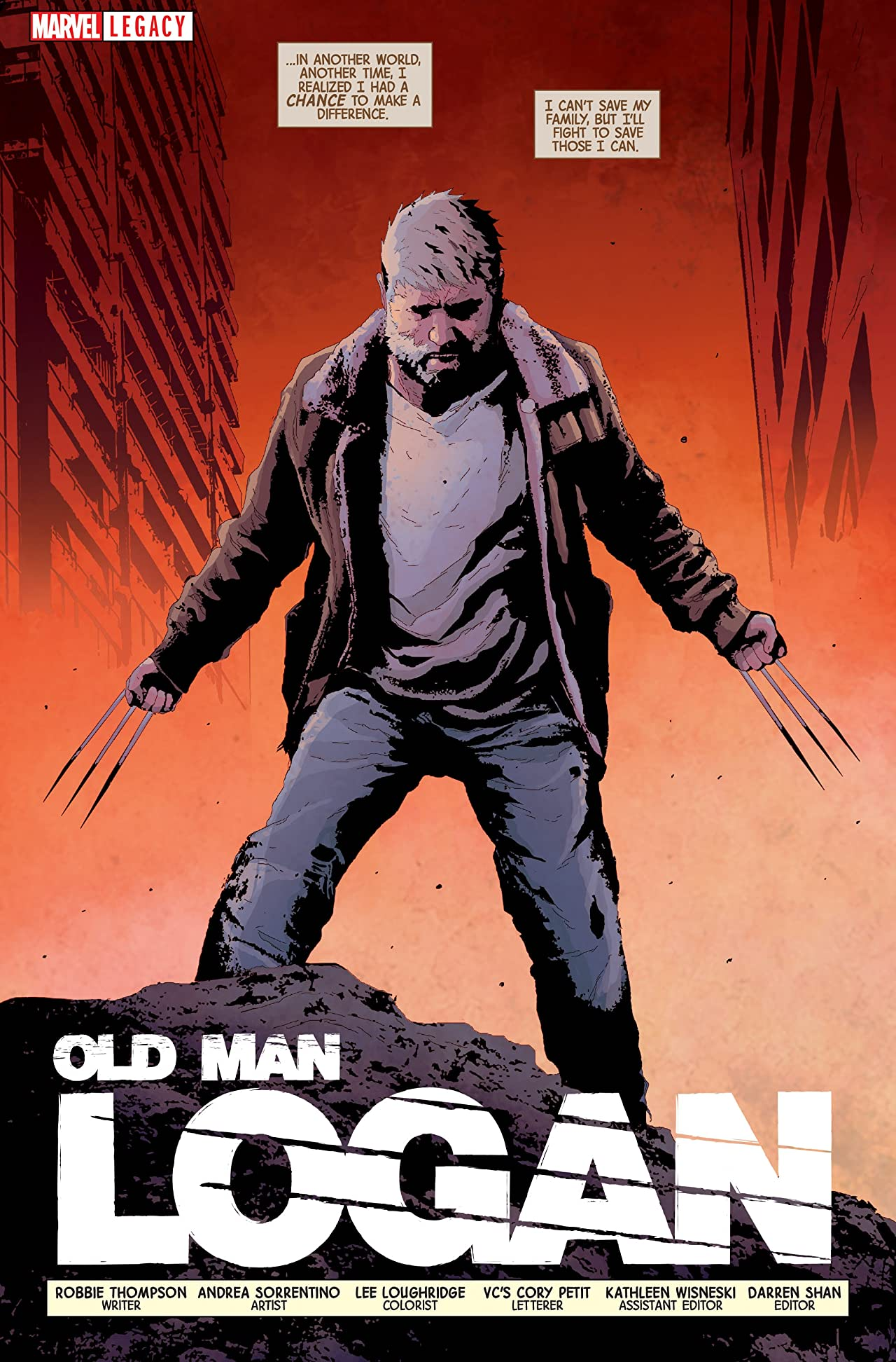 Old Man Logan - Marvel Legacy Primer Pages