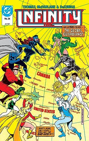 Infinity, Inc. (1984-1988) #34