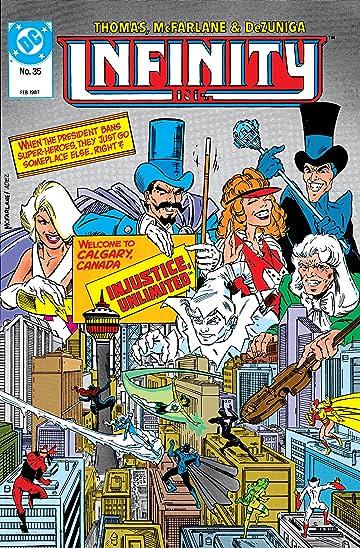 Infinity, Inc. (1984-1988) #35