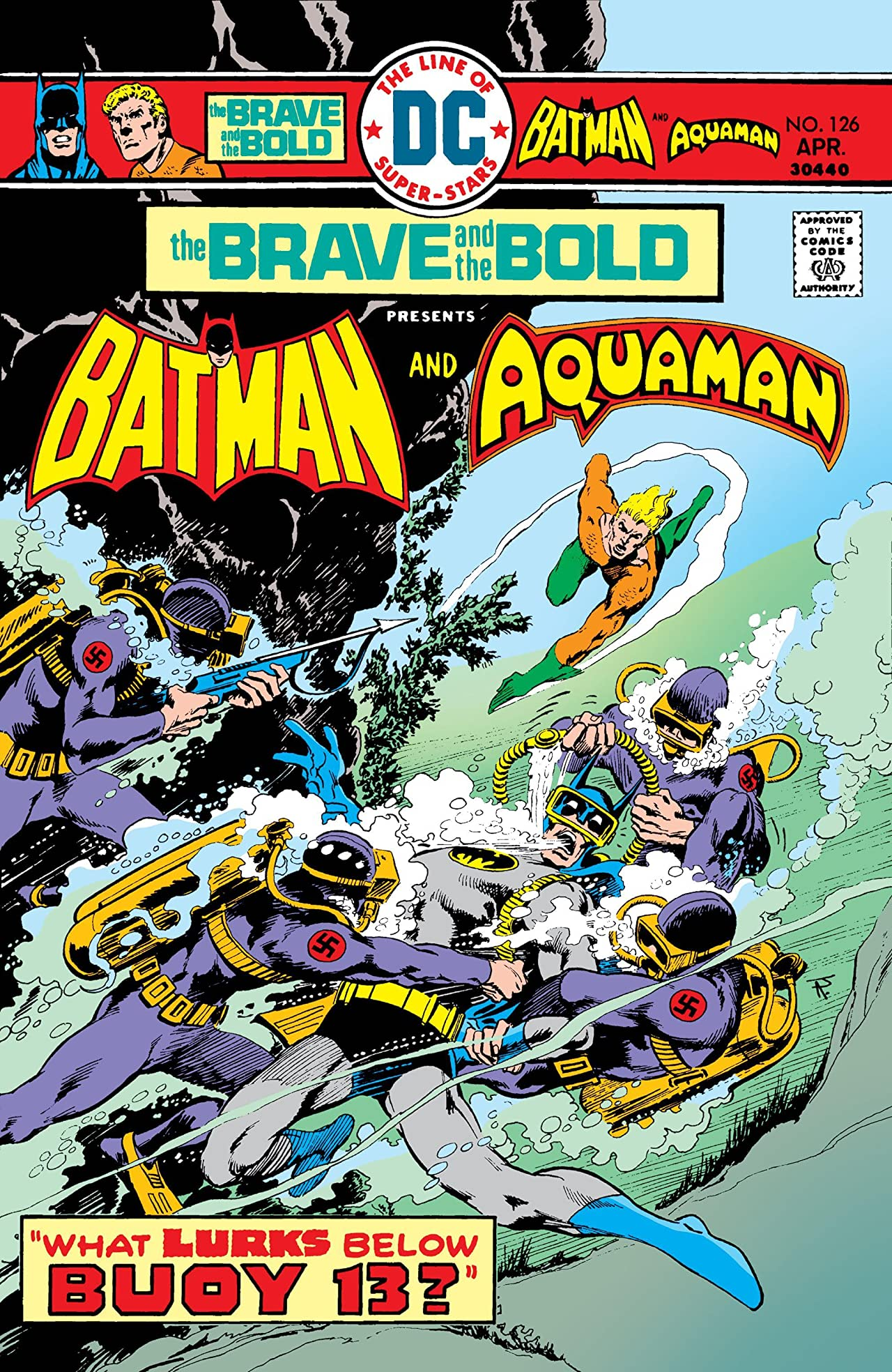 The Brave and the Bold (1955-1983) #126