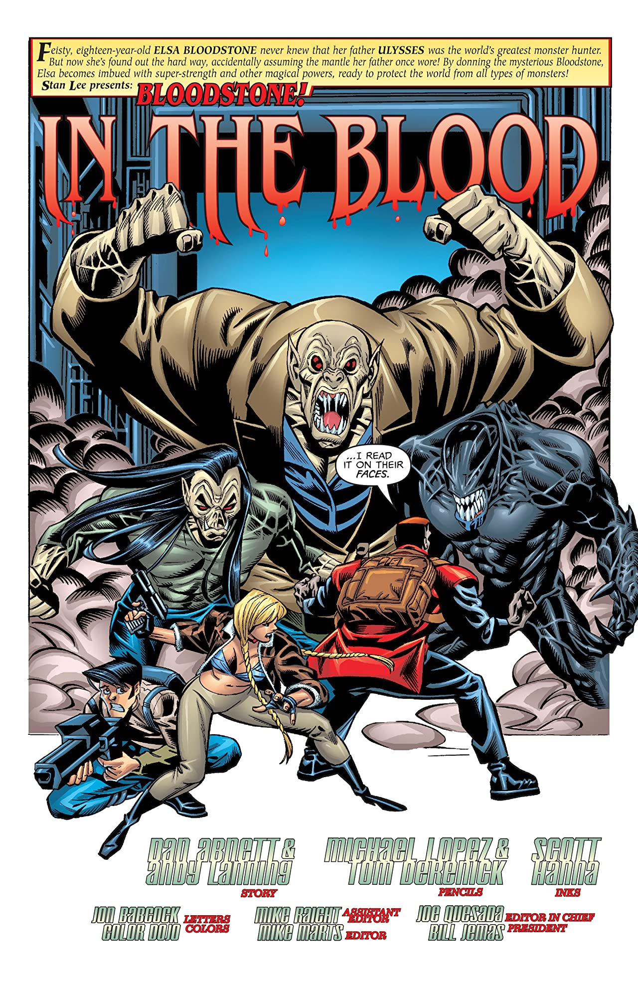 Bloodstone (2001) #4 (of 4)