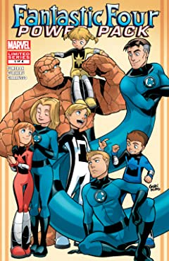 Fantastic Four and Power Pack (2007) #1 (of 4)