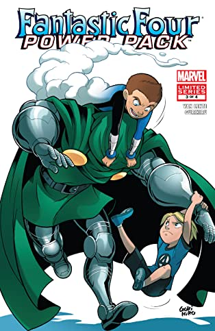 Fantastic Four and Power Pack (2007) #3 (of 4)
