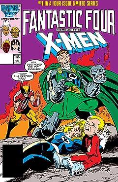 Fantastic Four vs. X-Men (1987) #1 (of 4)