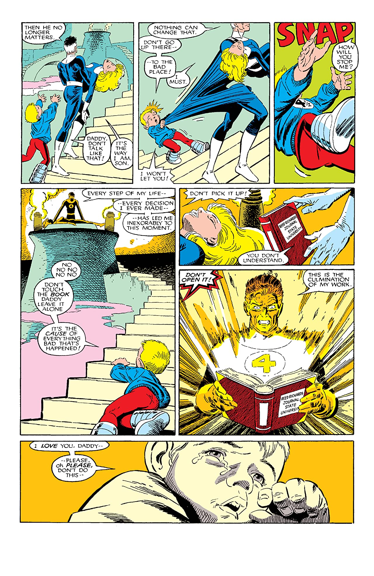 Fantastic Four vs. X-Men (1987) #1 (of 4)