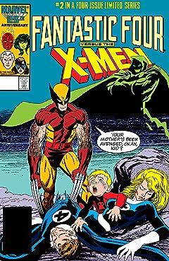 Fantastic Four vs. X-Men (1987) #2 (of 4)