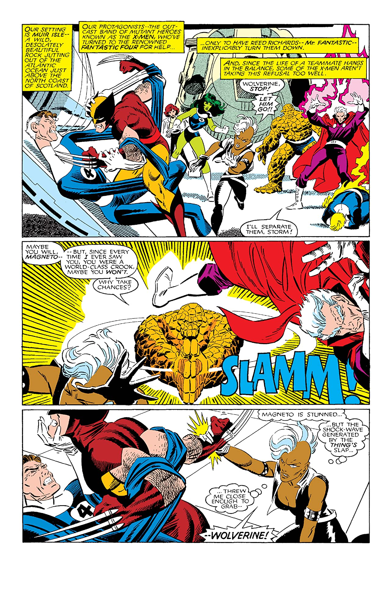 Fantastic Four vs. X-Men (1987) #2 (of 4)