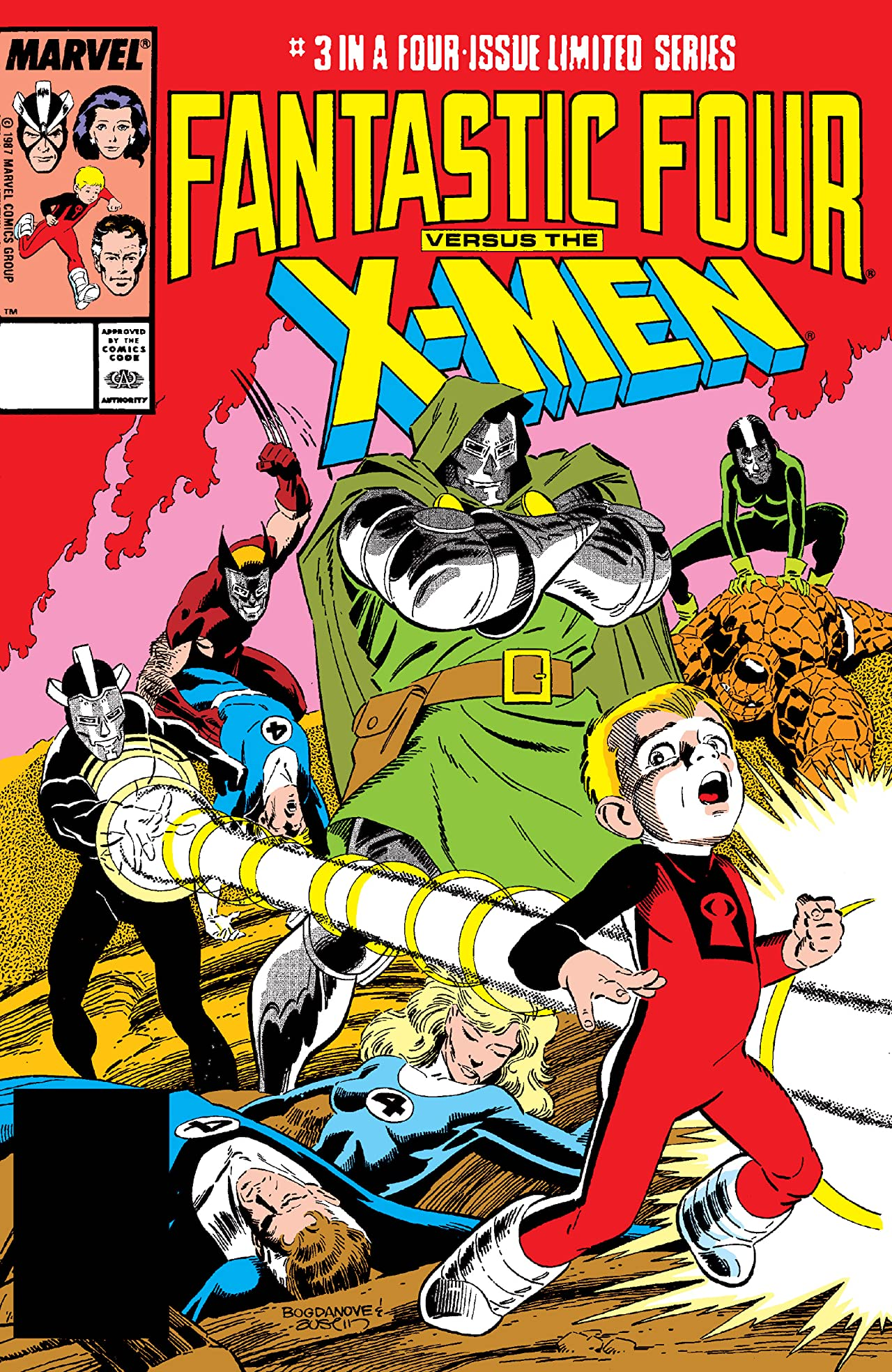 Fantastic Four vs. X-Men (1987) #3 (of 4)
