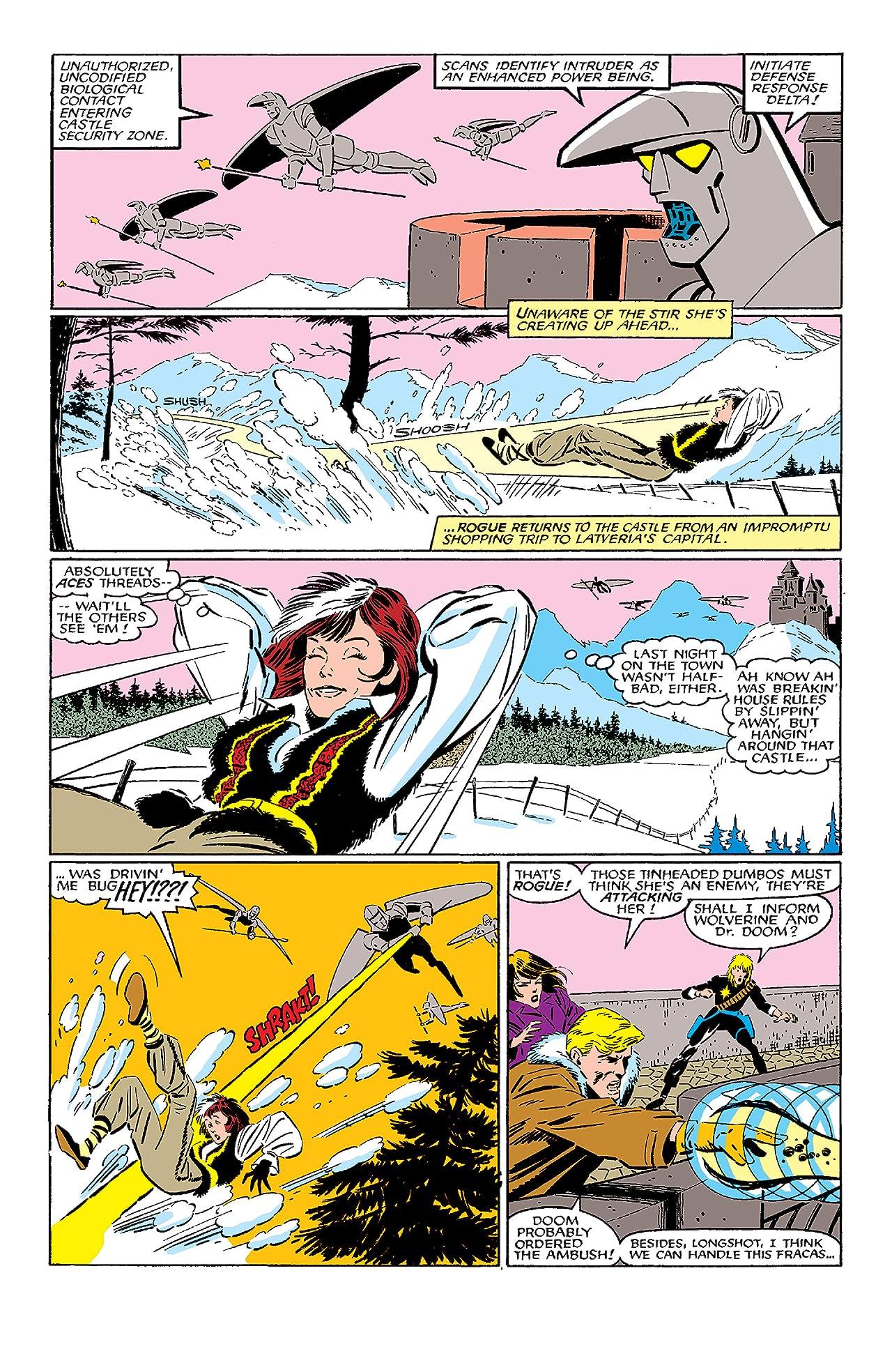 Fantastic Four vs. X-Men (1987) #3 (of 4)