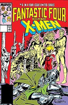 Fantastic Four vs. X-Men (1987) #4 (of 4)