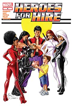 Heroes For Hire (2006-2007) No.6