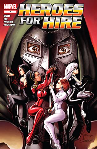 Heroes For Hire (2006-2007) #8