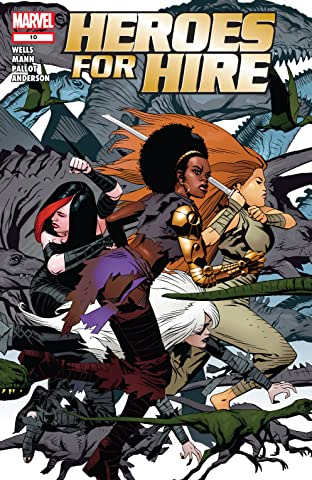 Heroes For Hire (2006-2007) #10
