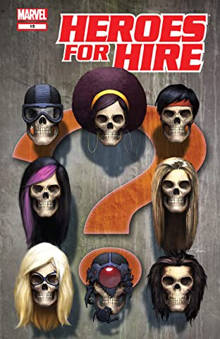 Heroes For Hire (2006-2007) No.15