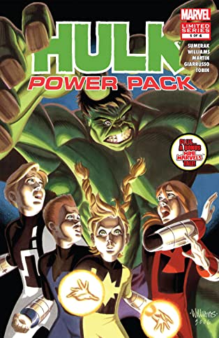 Hulk and Power Pack (2007) #1 (of 4)