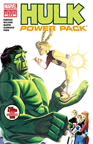 Hulk and Power Pack (2007) #2 (of 4)