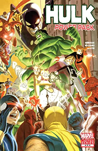Hulk and Power Pack (2007) #4 (of 4)