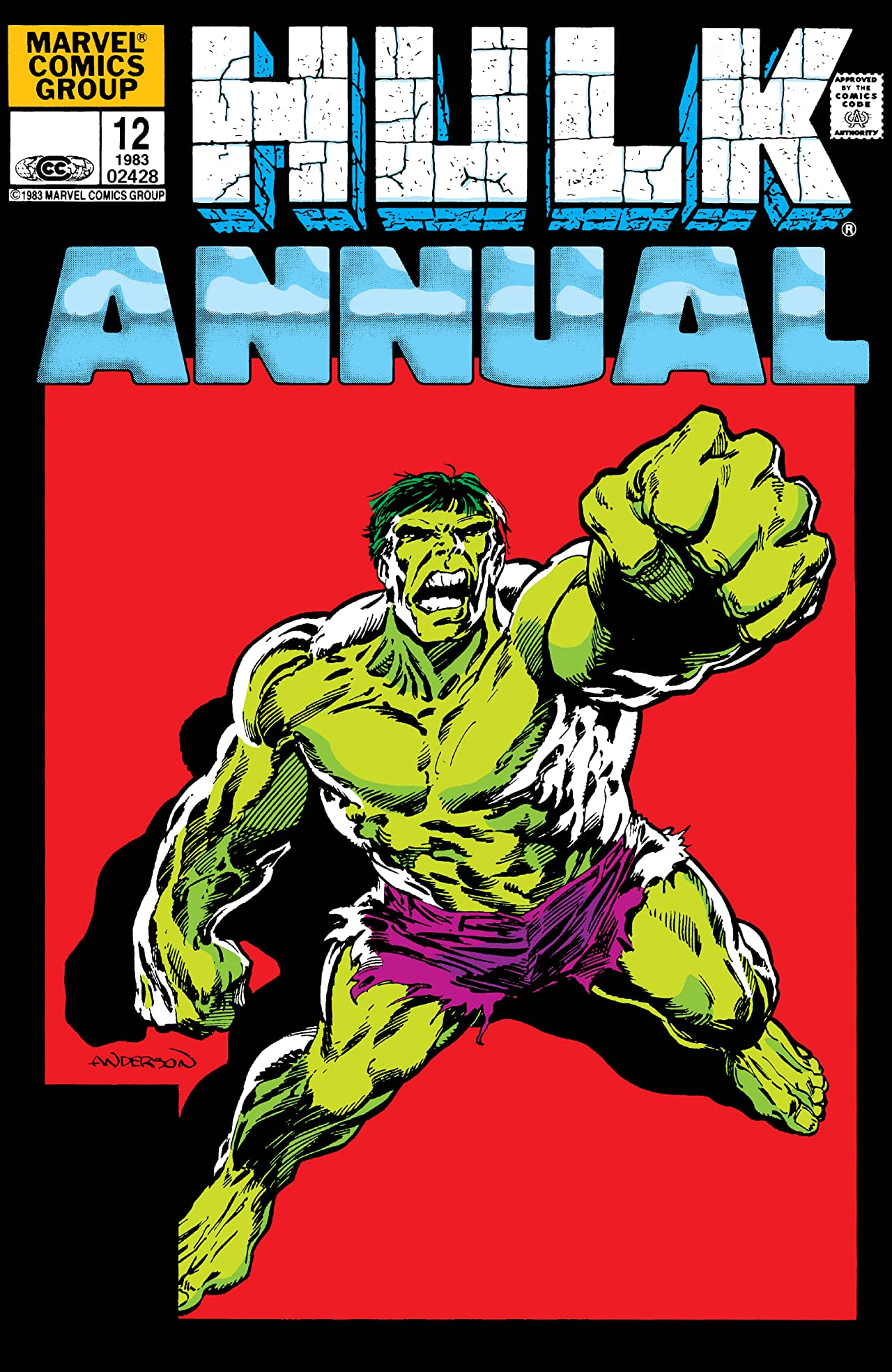 Incredible Hulk (1962-1999) Annual #12