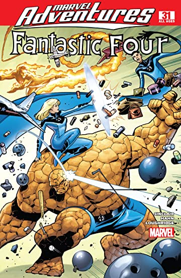 Marvel Adventures Fantastic Four (2005-2009) #31