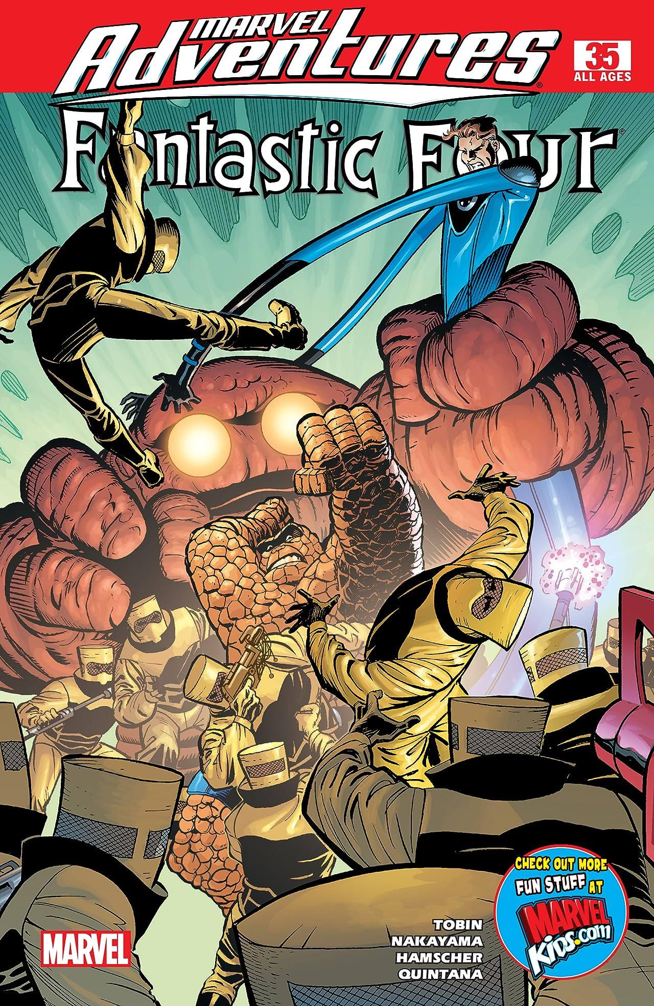 Marvel Adventures Fantastic Four (2005-2009) #35