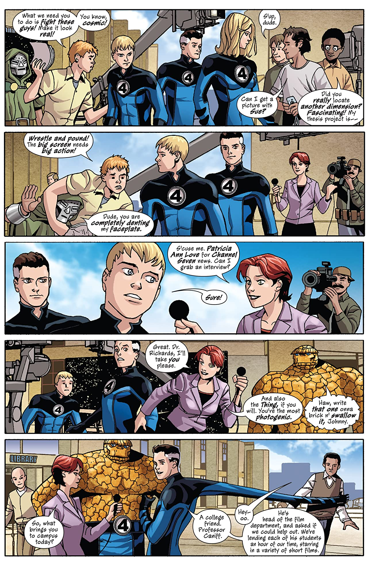 Marvel Adventures Fantastic Four (2005-2009) #36