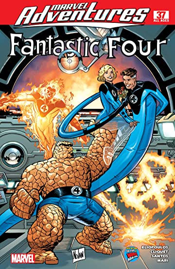 Marvel Adventures Fantastic Four (2005-2009) #37