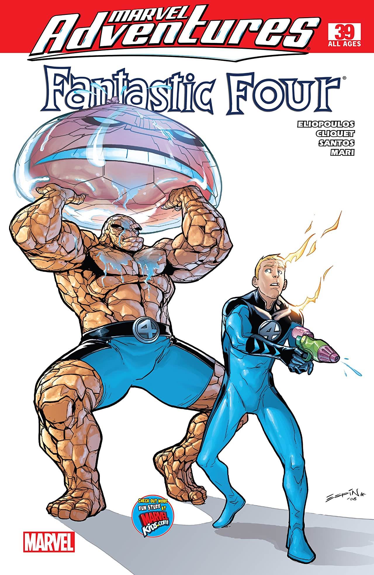 Marvel Adventures Fantastic Four (2005-2009) No.39