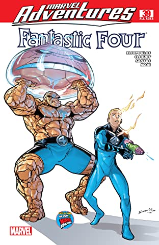 Marvel Adventures Fantastic Four (2005-2009) #39