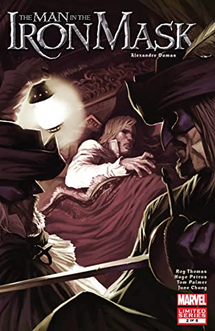 Marvel Illustrated: The Man In the Iron Mask (2007-2008) #2