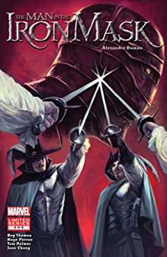 Marvel Illustrated: The Man In the Iron Mask (2007-2008) #6