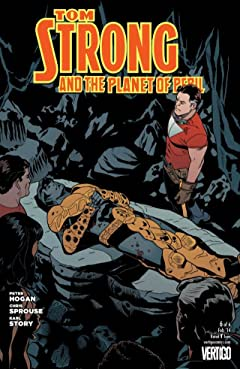 Tom Strong and the Planet of Peril #6 (of 6)