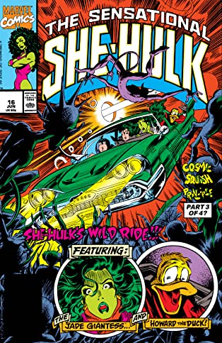 Sensational She-Hulk (1989-1994) #16