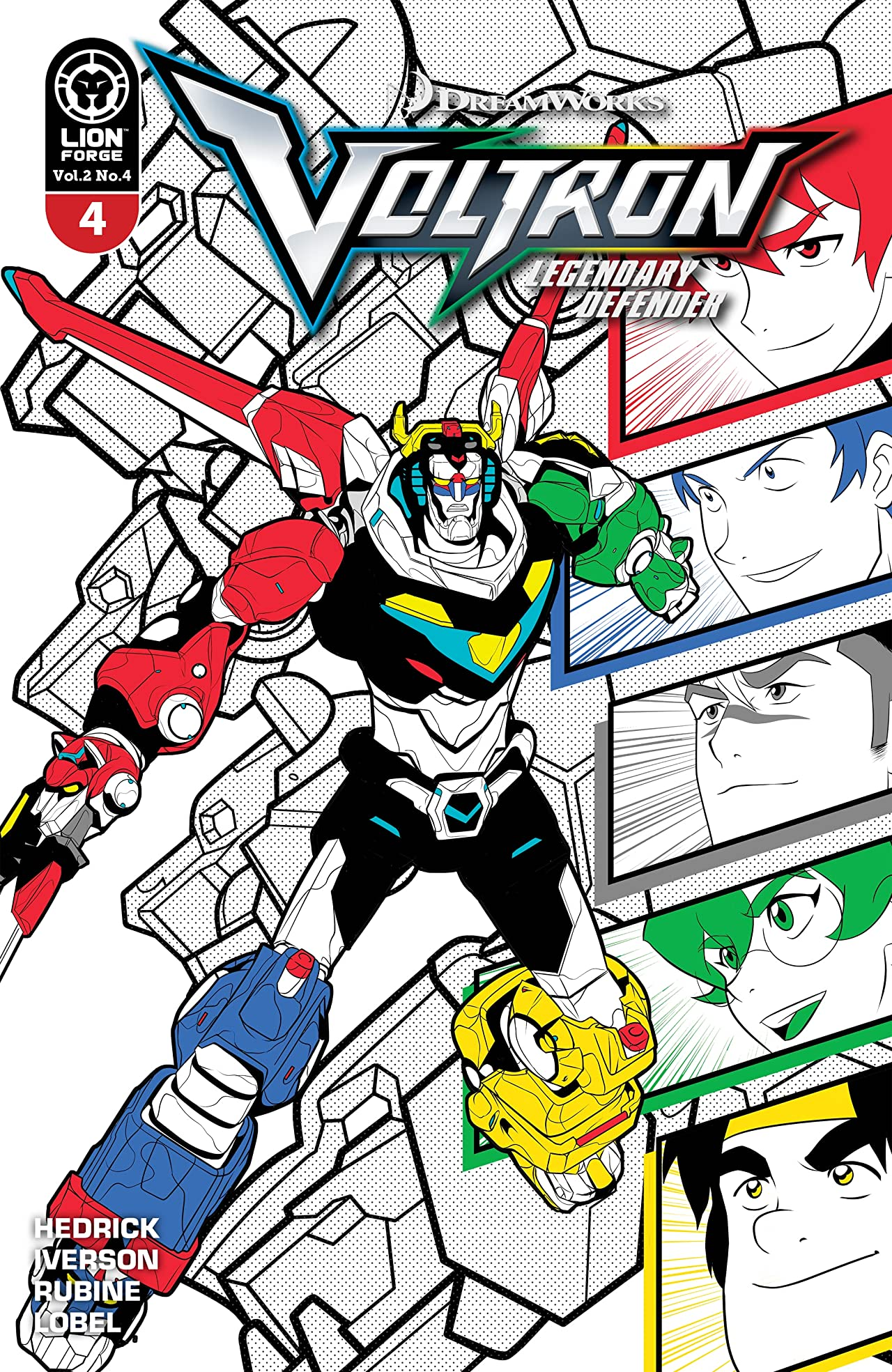 Voltron: Legendary Defender Vol. 2 #4