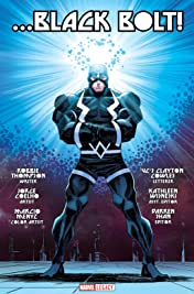 Black Bolt - Marvel Legacy Primer Pages