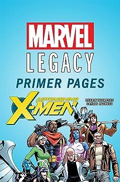 Astonishing X-Men - Marvel Legacy Primer Pages