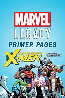 Astonishing X-Men - Marvel Legacy Primer Pages