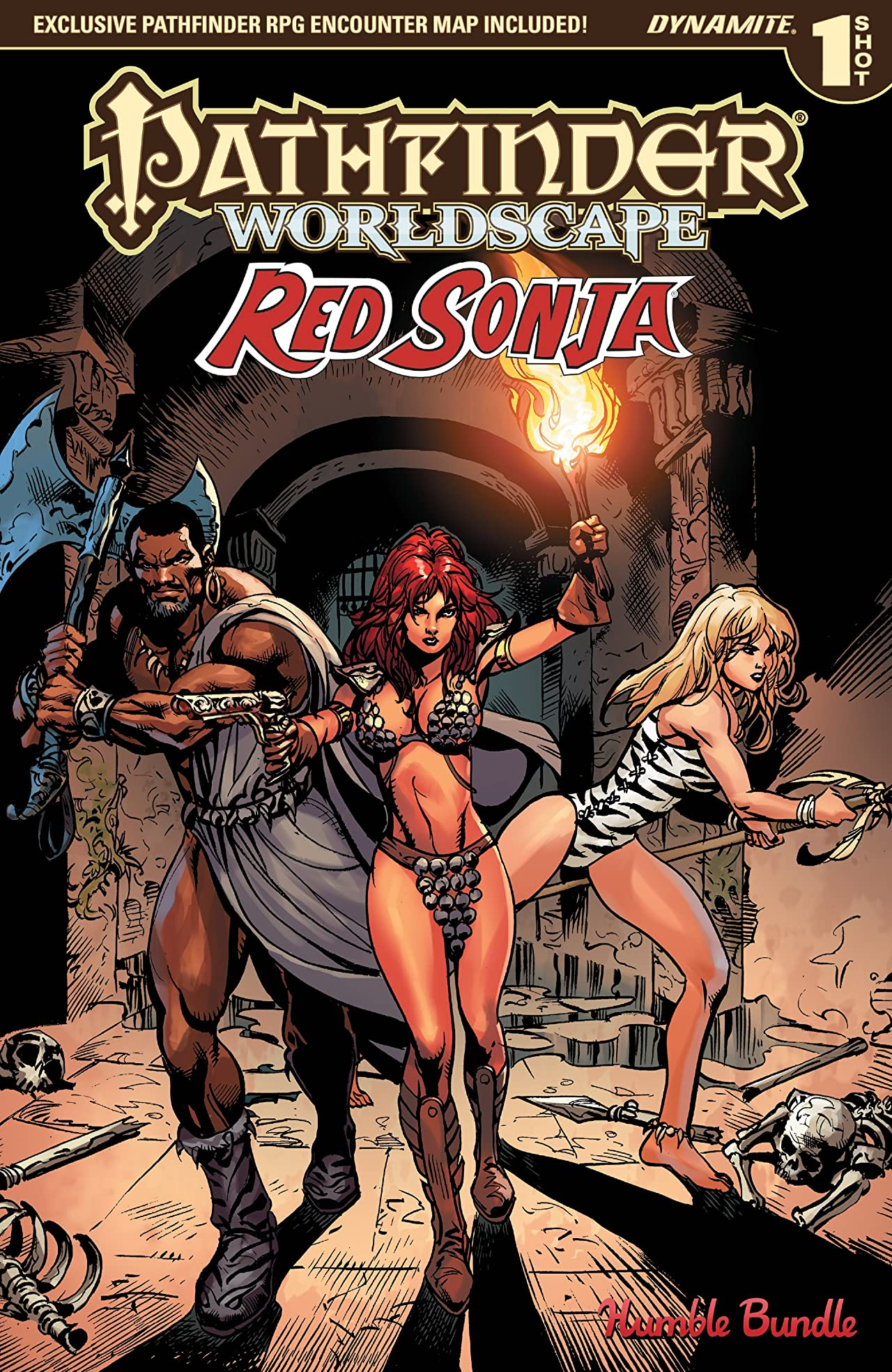 Pathfinder: Worldscape - Red Sonja
