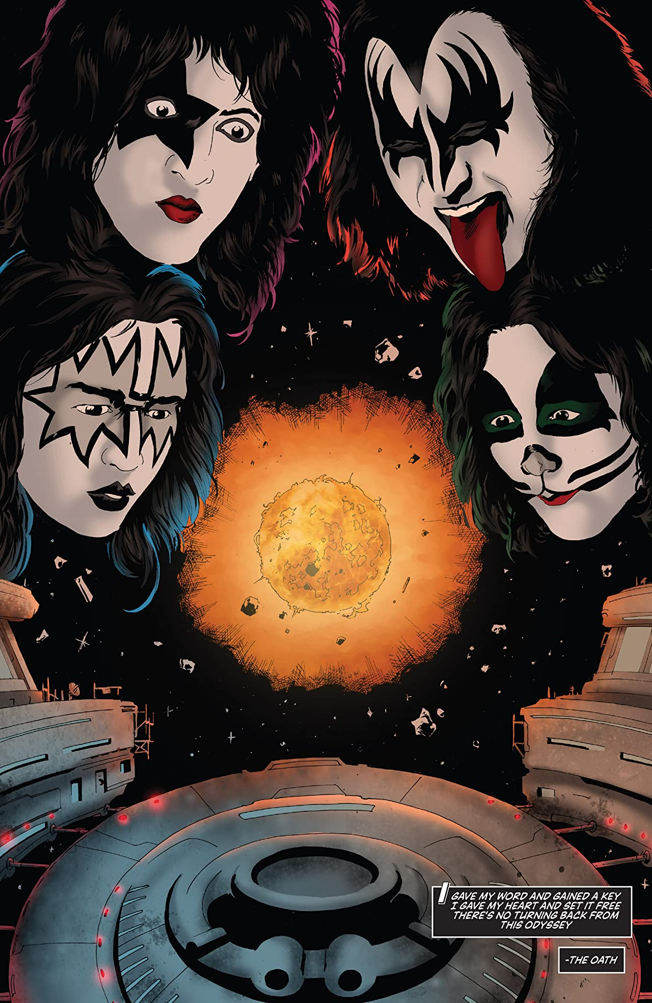 Kiss: The Elder Vol. 2: Odyssey