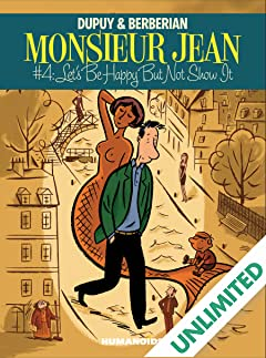 Monsieur Jean #4: Let's Be Happy But Not Show It