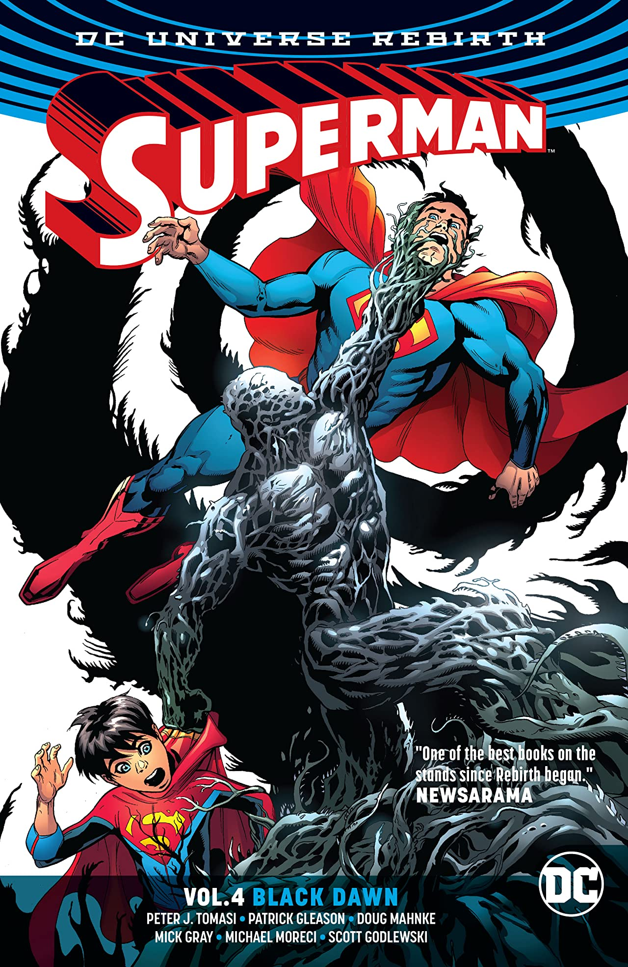 Superman (2016-) Vol. 4: Black Dawn