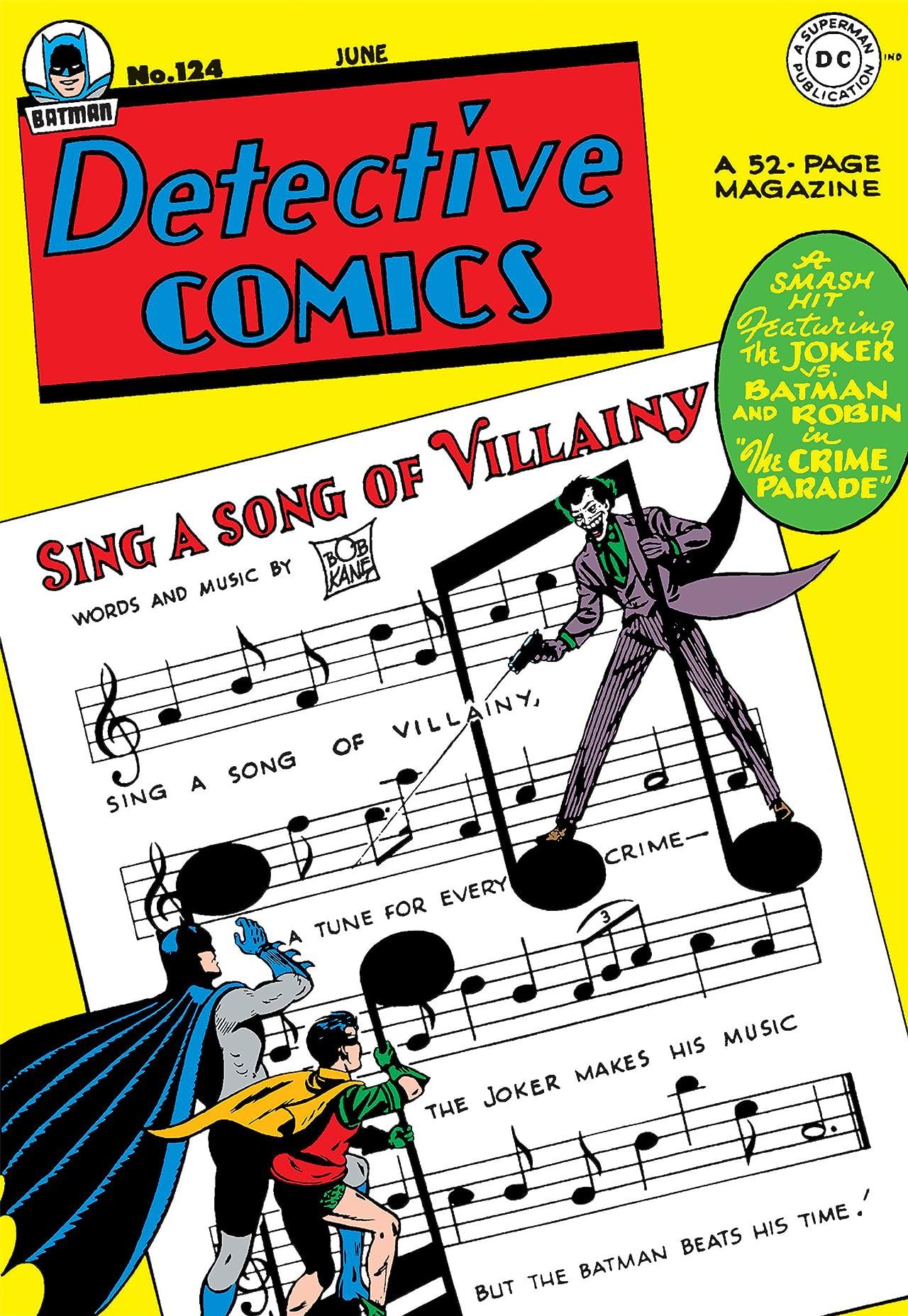 Detective Comics (1937-2011) #124