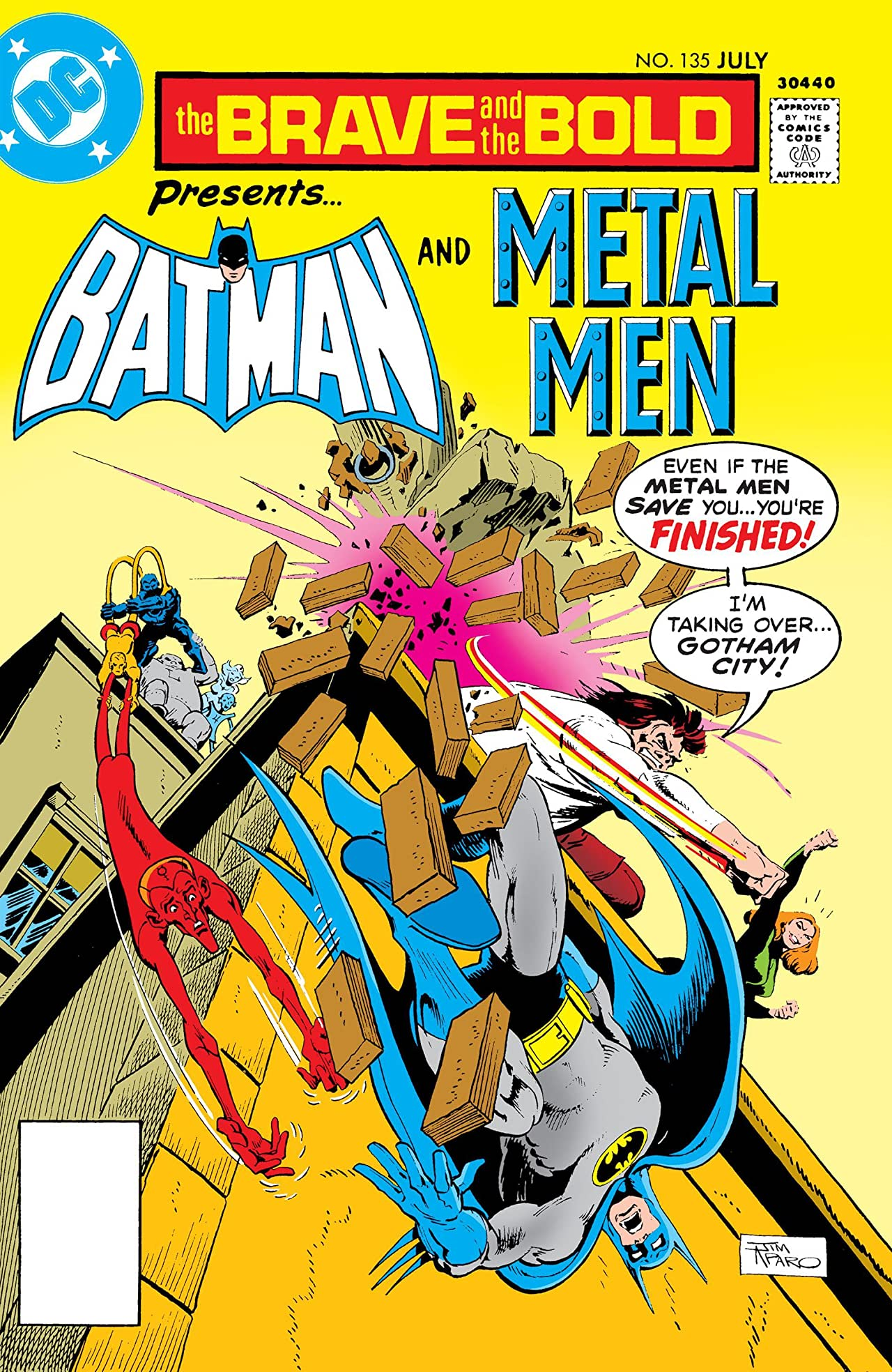 The Brave and the Bold (1955-1983) #135