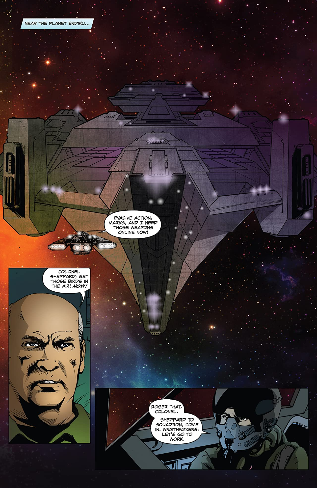 Stargate Atlantis: Hearts & Minds #3