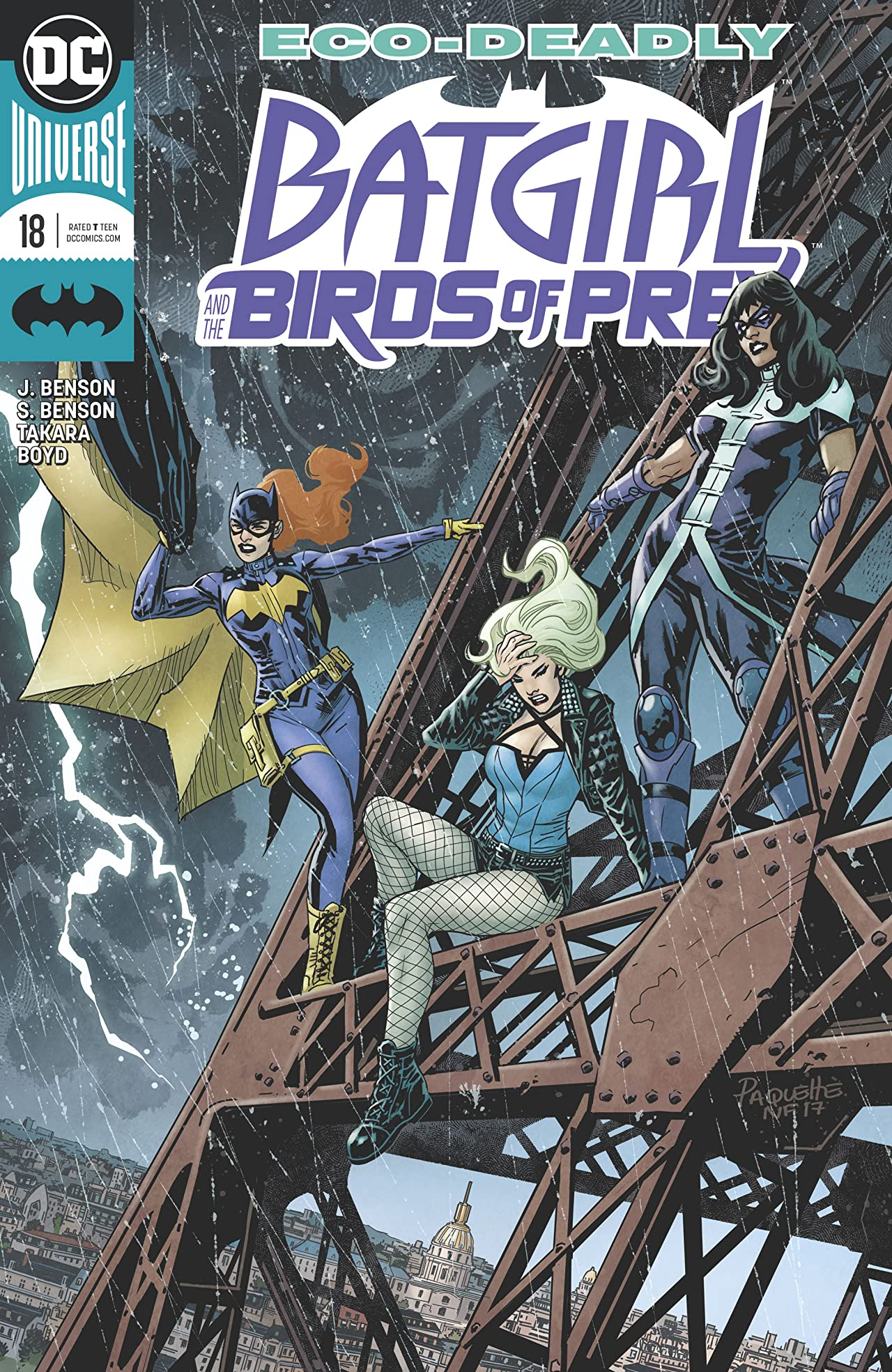 Batgirl and the Birds of Prey (2016-) #18