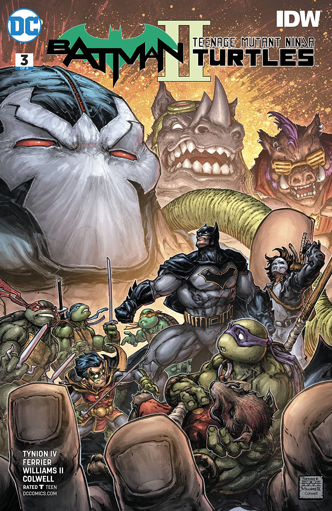 Batman/Teenage Mutant Ninja Turtles II (2017-) No.3